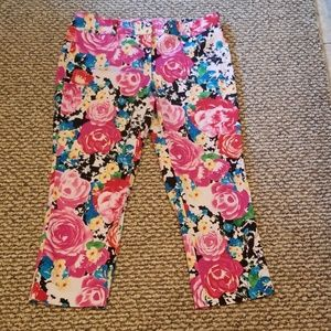New York & Company Stretch capri pants sz 8